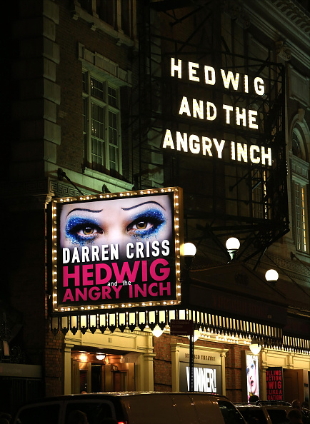 "Darren Criss' Debut Performance In Broadway's ""Hedwig And The Angry Inch"""